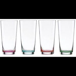 Kate Spade Flynn street assorted glasses set of 4